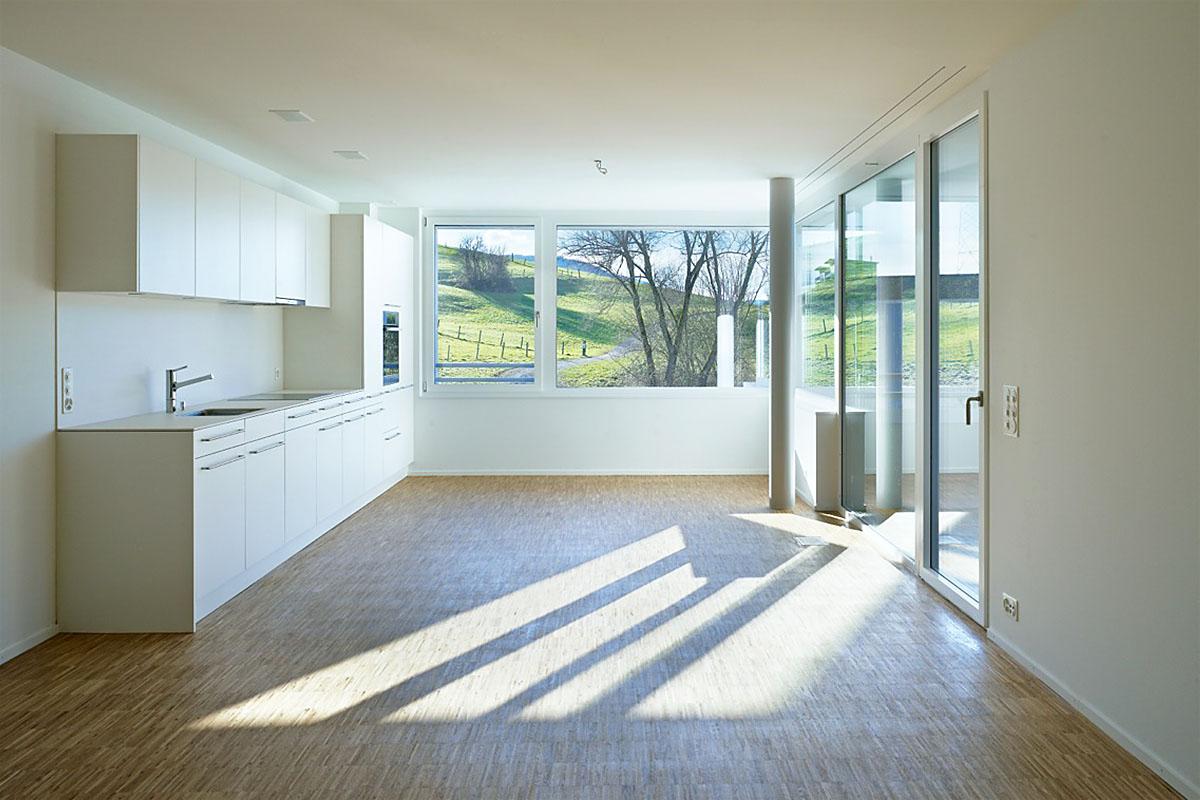 omlin architekten gmbh neubau mehrfamilienh user ormalingen. Black Bedroom Furniture Sets. Home Design Ideas